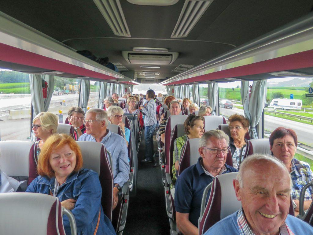 Tagesausflug des Gartenbauvereins Unterwössen