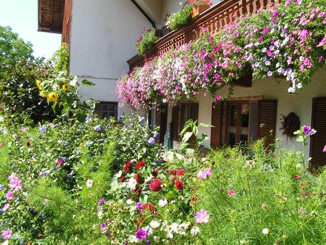 Blumenschmuckwettbewerb Wössen blüht in Oberwössen und Unterwössen